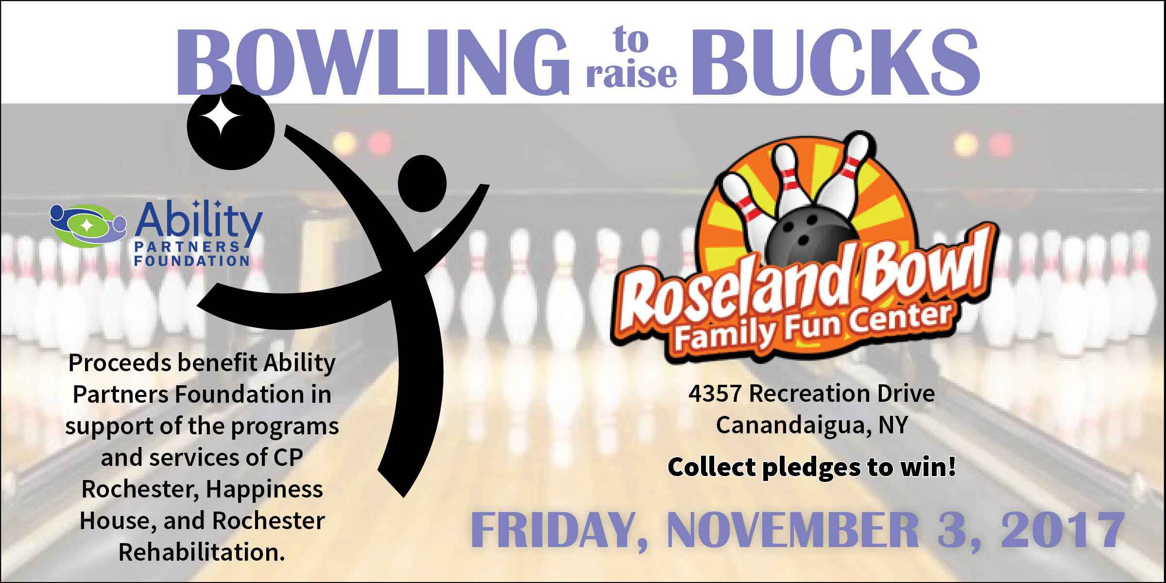Bowling to Raise Bucks