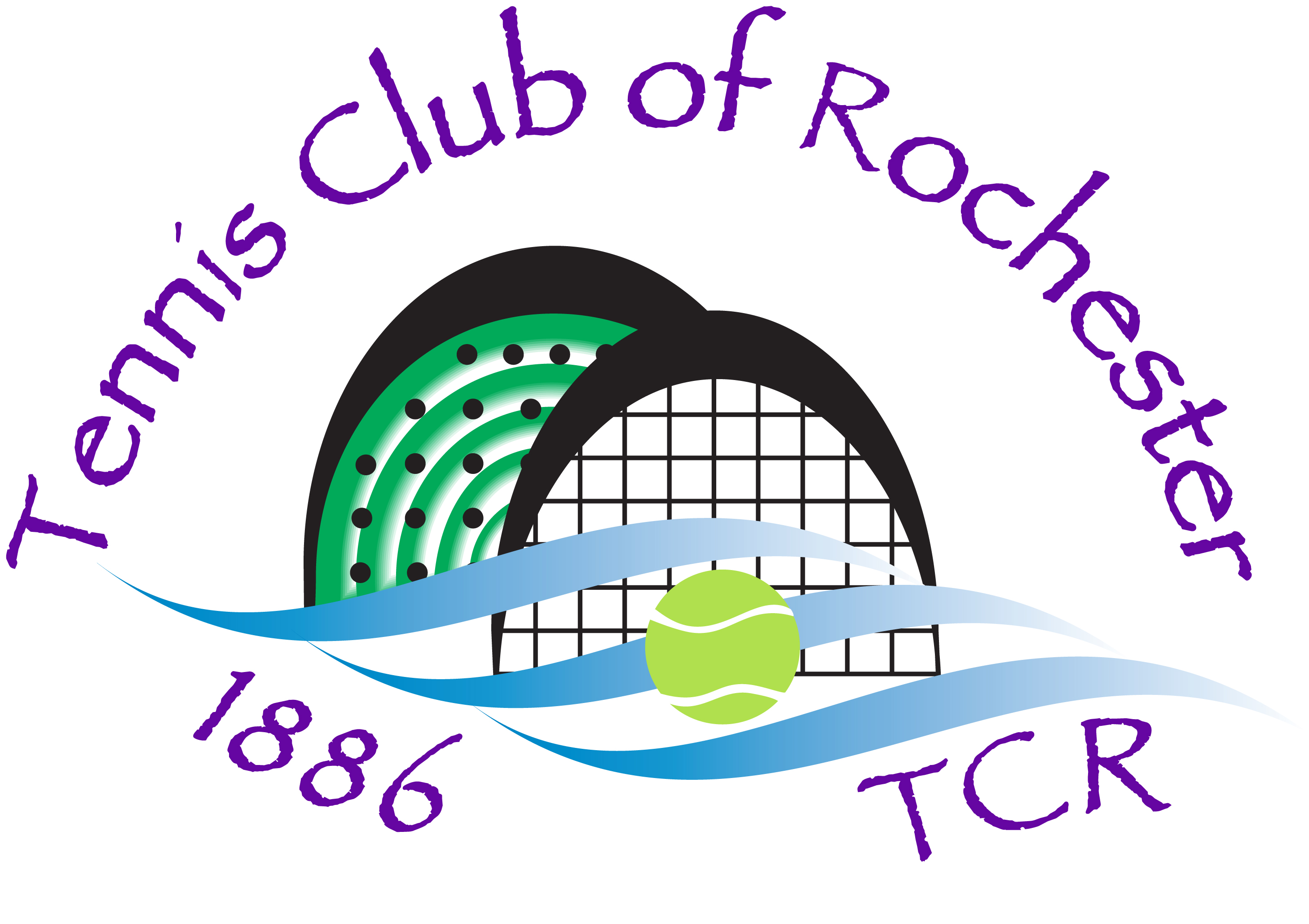 Tennis Club of Rochester logo