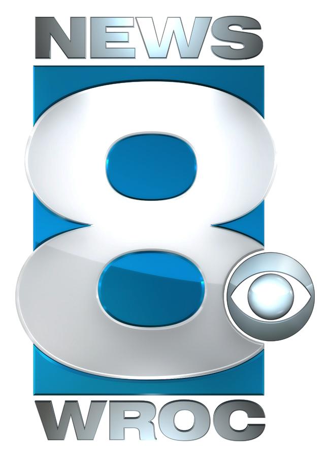 News 8 WROC logo