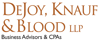 DeJoy Knauf & Blood logo