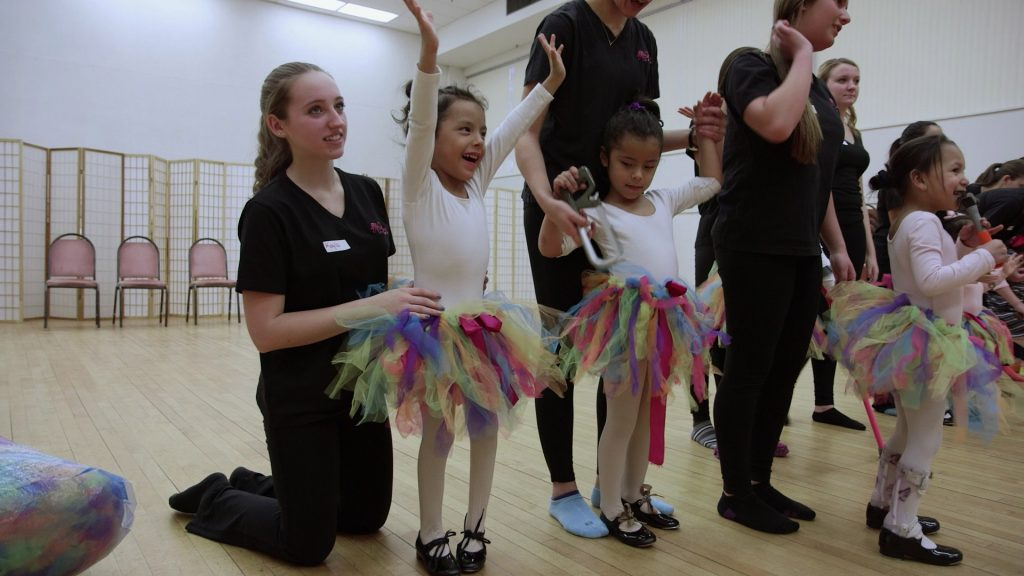 Young Dancers Rehearse
