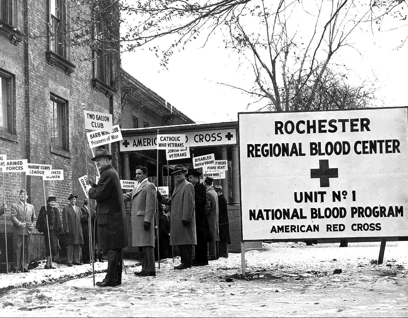 1948 Courtesy American Red Cross