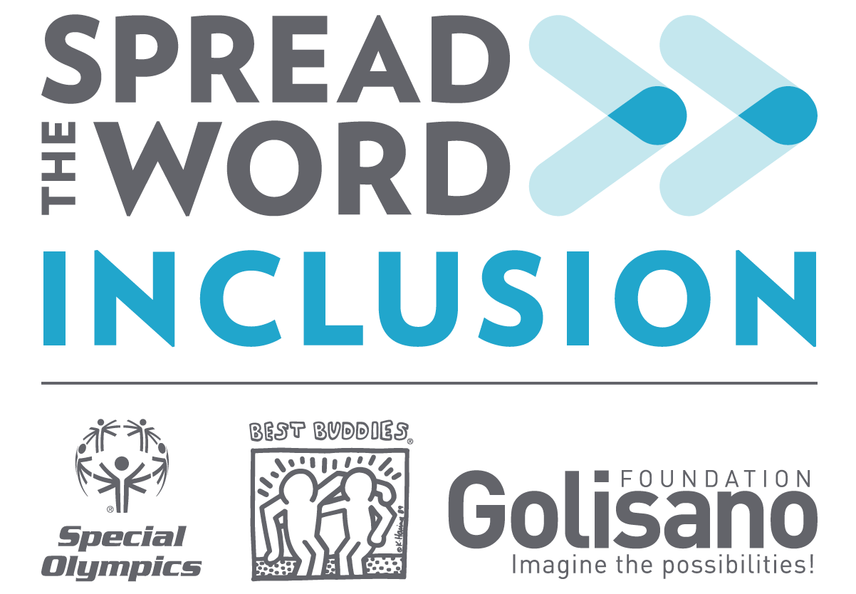 Spread the Word Inclusion campaign hosted by Special Olympics, Best Buddies, and The Golisano Foundation