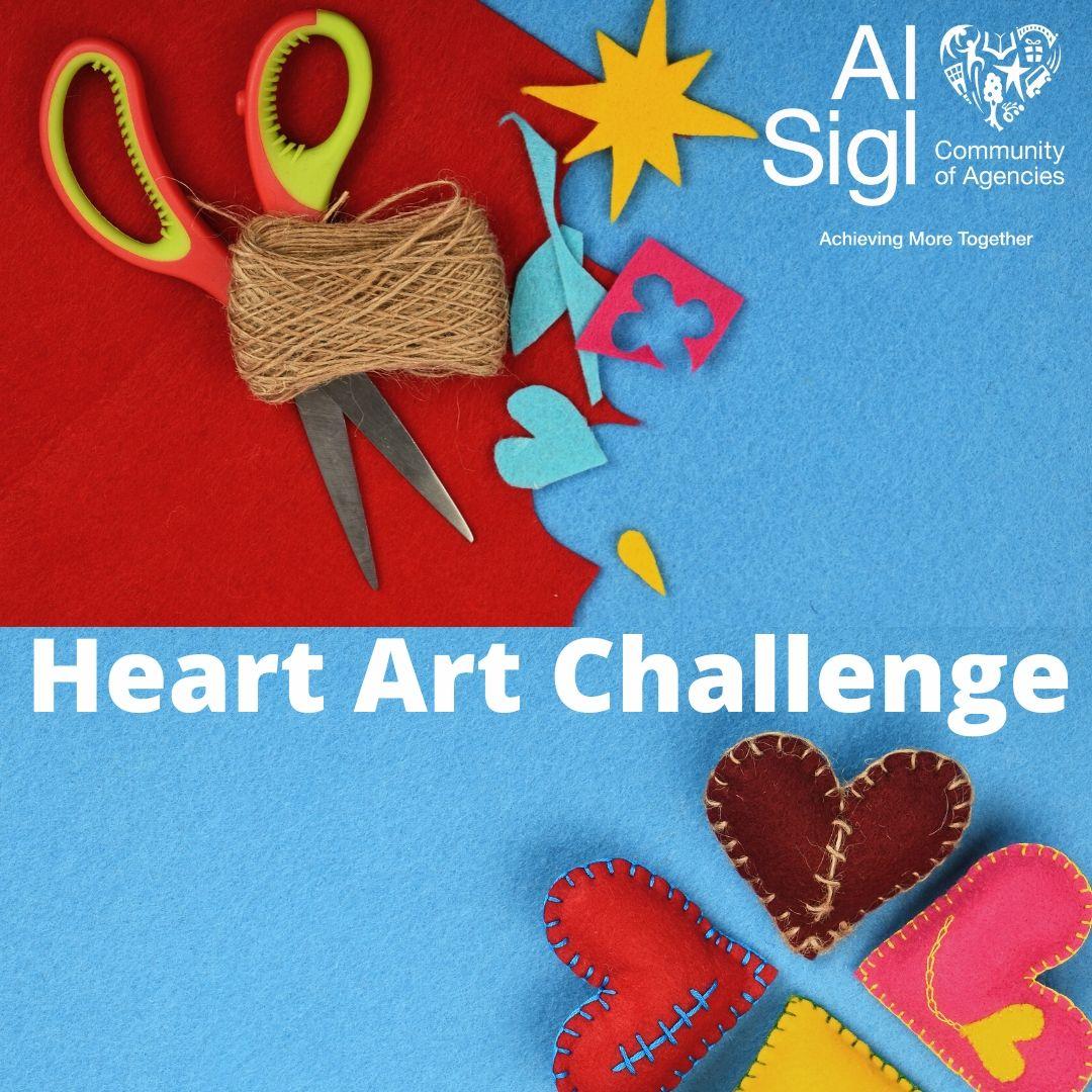 Heart Art Challenge
