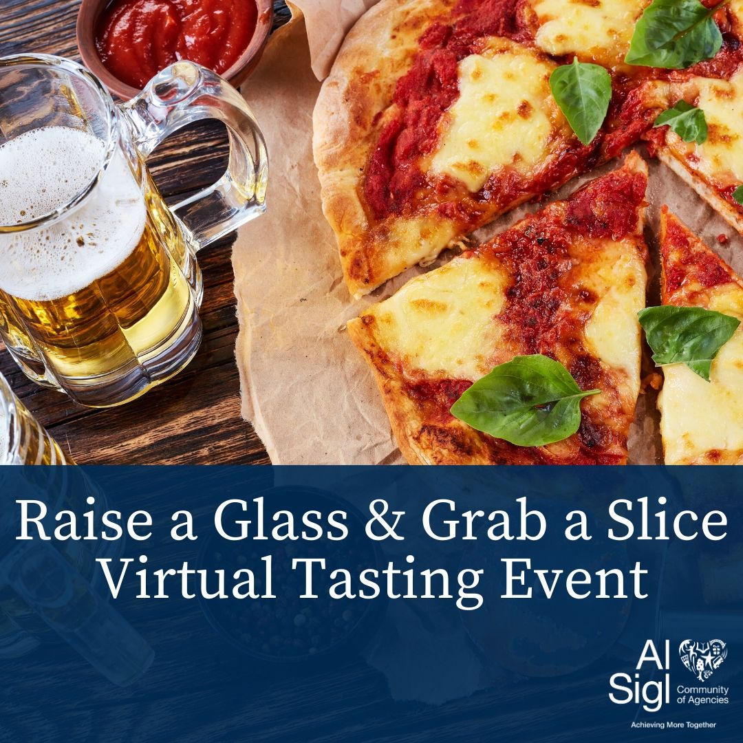 Raise a Glass & Grab a Slice Virtual Tasting Event